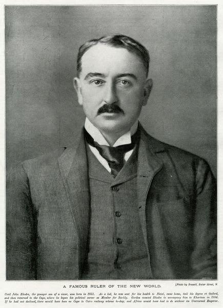 Cecil Rhodes (1853 1902), British businessman #14260574 Poster