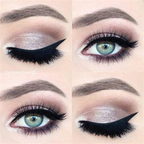 Maquillage yeux verts – Couleurs d'un maquillage pour yeux verts