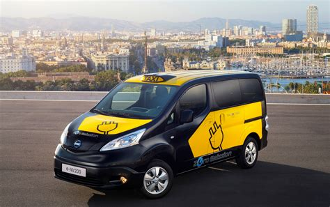 Barcelona To Use Nissan E Nv200 Electric Taxi Cabs