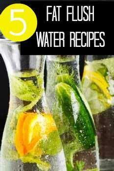 detox water recipes  flush  liver detox waters