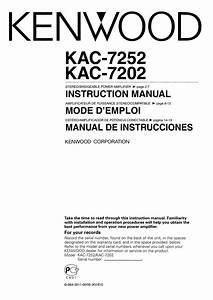 Kenwood Kac 921 Amplifier Manual