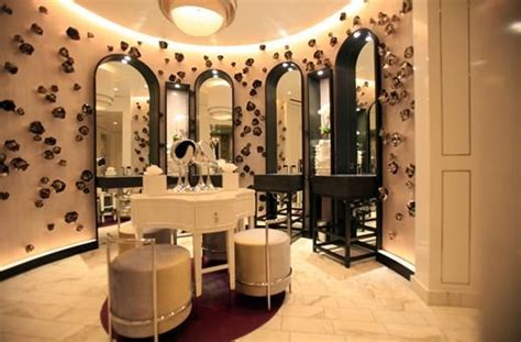 hollywood glam womens restroom  hotel bel air