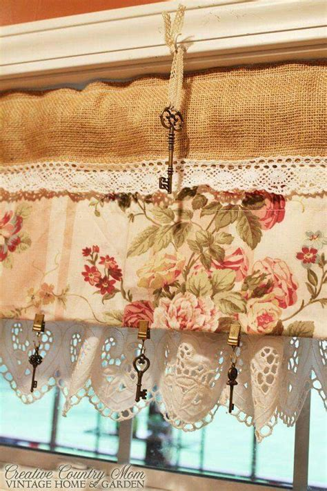 french country kitchen curtains images