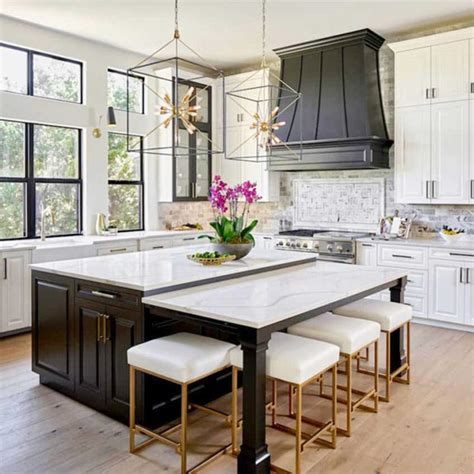 sherwin williams pure white cabinets kitchen painting projects dramatic before and after photos 309 | Painted kitchen cabinets in Sherwin Williams SW 7005 Pure White black island and range hood in Benjamin Moore BM 2133 10 Onyx cabinet painters 800sq copy