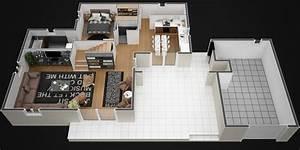 plan maison 120m2 avec etage With superior plan maison r 1 100m2 2 plan maison r 1 160 m2