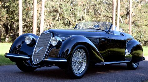 1) 1939 Alfa Romeo 8c 2900b Spider By Touring