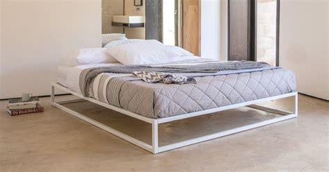 Mondrian Metal Platform Bed (no Headboard)