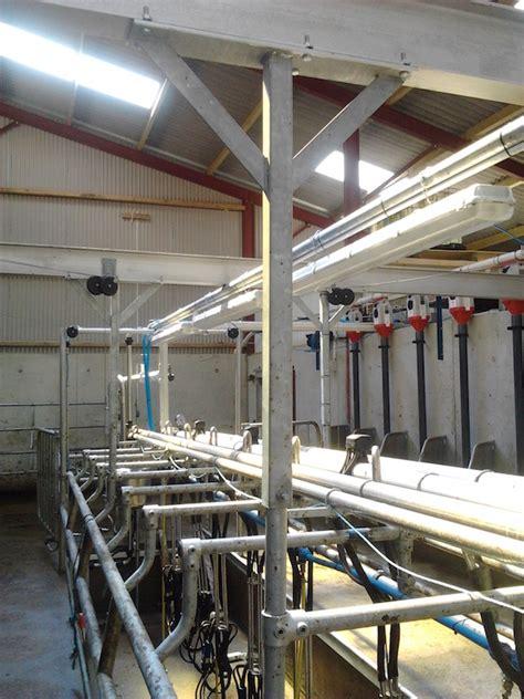 dairy milking cows parlour parlours ie rails rump wishlist