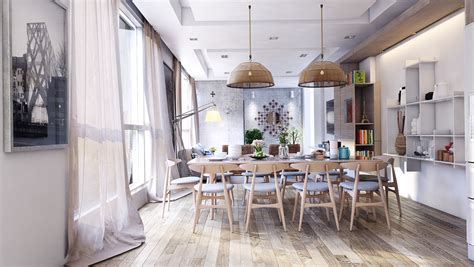 cool rustic dining room designs