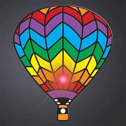 Air Balloon Balloons Flashing Rainbow Blinkies Flashingblinkylights