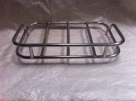 motorcycle luggage rack chrome touring motorcycle top rack trunk luggage rack for