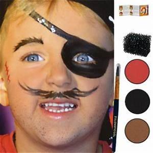 Maquillage Simple Enfant : maquillage enfant maquillage pirate ~ Melissatoandfro.com Idées de Décoration