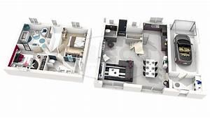 construire sa salle de bain en 3d gratuit maison design With superior maison en 3d gratuit 10 plan 3d salon