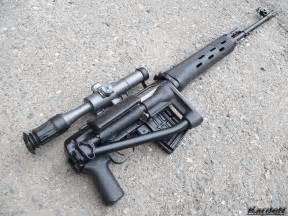 Russian SVD Dragunov Sniper Rifle