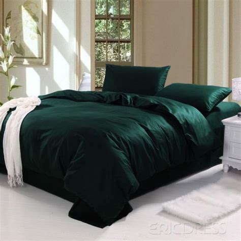 dark green bedding sets ocyorsz bed linen sets fundas