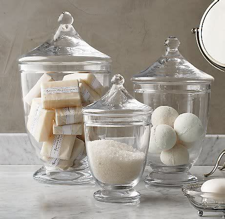 bathroom apothecary jar ideas decorating with apothecary jars toni schefer design