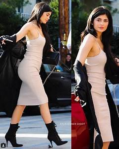 Kylie jenner sort dans un robe nude fourreau blog mode for Kylie jenner robe