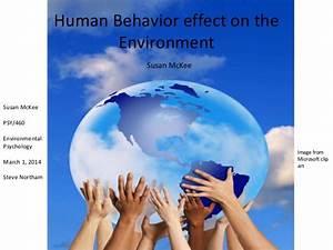 Human Behavior effect on the Environment