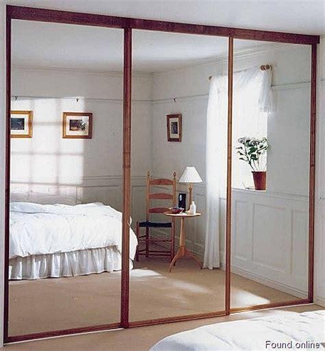 mirror sliding closet doors  bedrooms decor