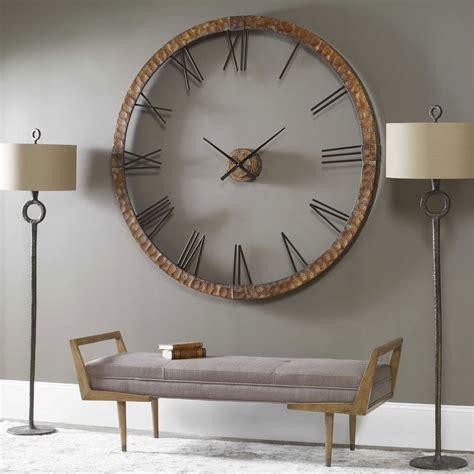 Uttermost Wall Clocks by Amarion Wall Clock 60 Quot By Uttermost Open Wall Clocks