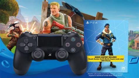 fortnite playstation controller bundle revealed