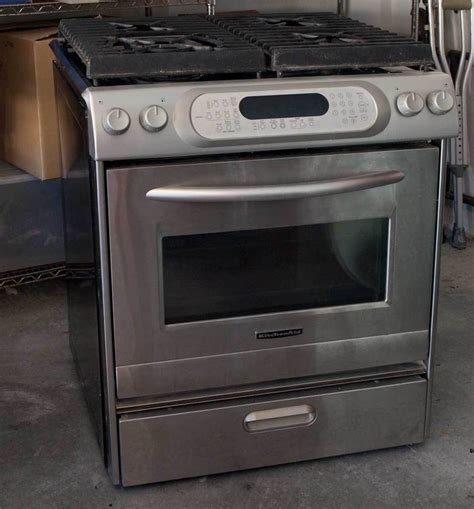 kitchen aid oven kitchenaid gas range stove convection oven architect