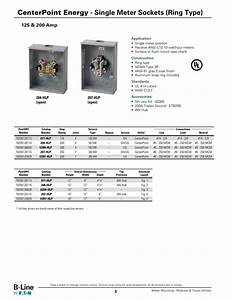 Centerpoint Approved Meter Sockets