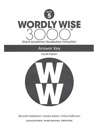 Wordly Wise 3000 Answer Key Edition 4th