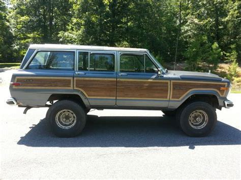 wagoneer jeep lifted purchase used 1989 jeep grand wagoneer base sport utility