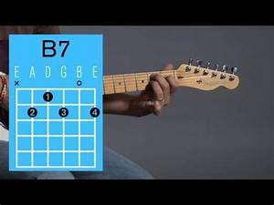 How To Play A B7 Open Chord