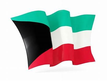Kuwait Flag Waving Icon