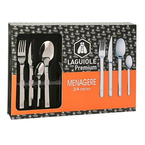 menagere inox 48 pieces menagere laguiole inox ziloo fr