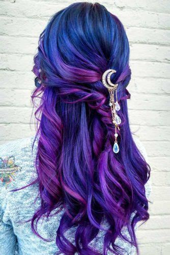 And Blue Hairstyles by 50 Fabulous Purple And Blue Hair Styles Lovehairstyles