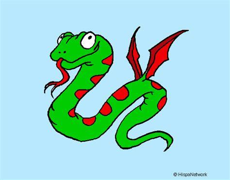 serpente volante disegno serpente volante colorato da alessandro il 21 di