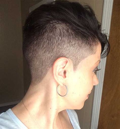 shaved pixie cut short hairstyles haircuts