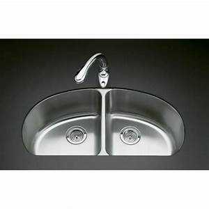 kohler k 3148 na undertone double equal undercounter With kitchen cabinets lowes with equal sign sticker