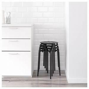 Tabouret Metal Ikea : marius tabouret noir ikea ~ Teatrodelosmanantiales.com Idées de Décoration