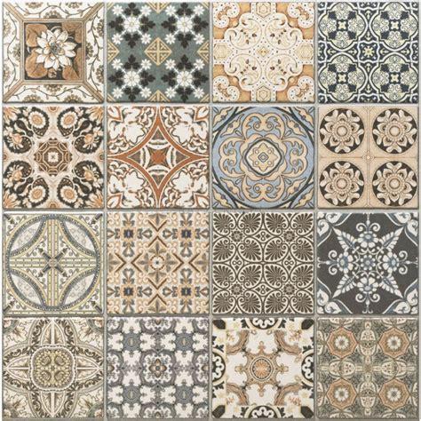 Fliesen Orientalischem Muster by Realonda Provenza Deco 44x44 Fliesen Bodenfliesen
