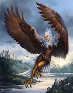 Flying Harpy by Candra on DeviantArt