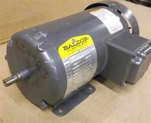 Baldor Electric Motor - 0 34hp - 3 Phase - 230   460 Volt