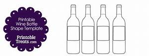 printable wine bottle shape template With how to print wine bottle labels