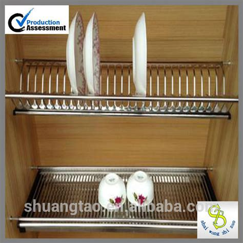 stainless steel  kitchen cabinet dish rack buy dish