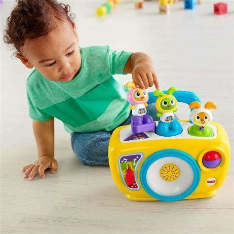 4.5 out of 5 stars. ***FAST TRACK***Fisher-Price BeatBo Boogie Boom Box ...