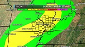 Update on severe weather situation for tonight and ...