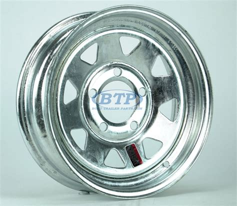 13 Inch Boat Trailer Wheels And Tires by Galvanized Boat Trailer Wheel 13 Inch 5 Bolt Trailer 5