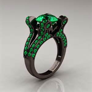 black gold emerald engagement rings in style favors top engagement ring styles
