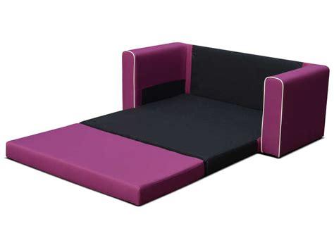 canapé fixe convertible 2 places en tissu coloris
