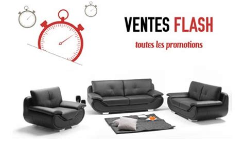 vente flash canape vente flash canapé