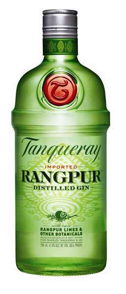 gin reviews tanqueray  rangpur lime  gin