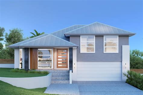 split entry home plans house plans and design house plans nz split level